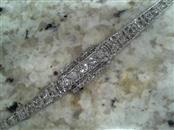 Platinum-Diamond Bracelet 5 Diamonds 10.50 Carat T.W. 950 Platinum 25.8g